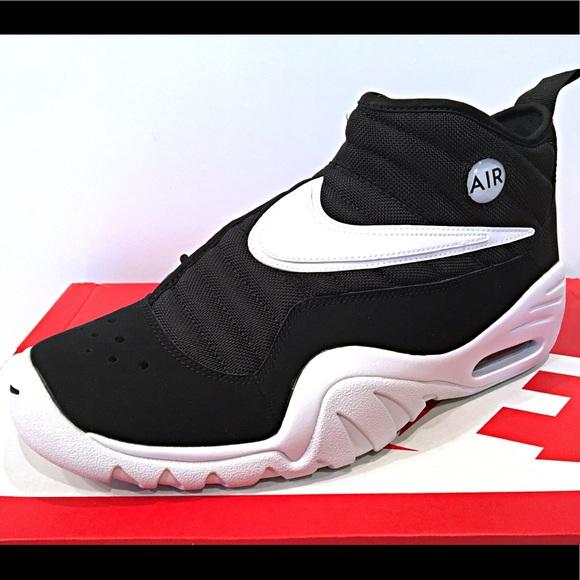 9537def1d609 Nike Air Shake Ndestrukt Black White Red Men s
